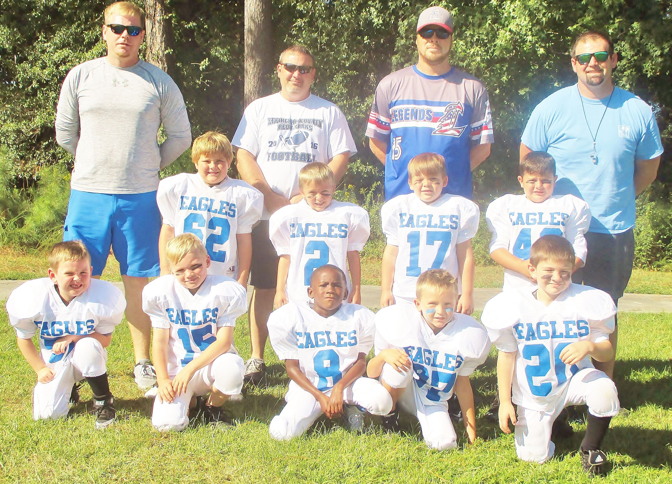 6U FB MYERS EAGLES